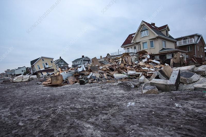 Hurricane Sandy's Aftermath