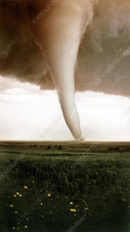 Tornado, Hardtner, KS 1929