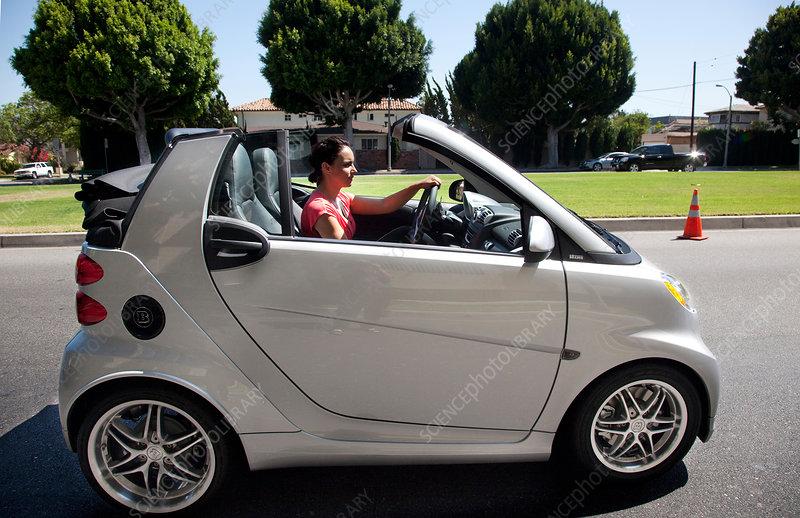 Mercedes Benz Smart Car