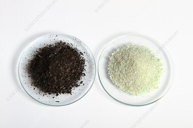 Iron and iron sulfate
