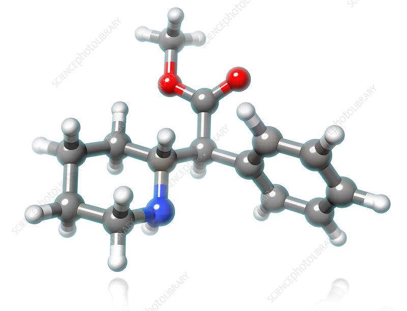 Methylphenidate Molecule, illustration