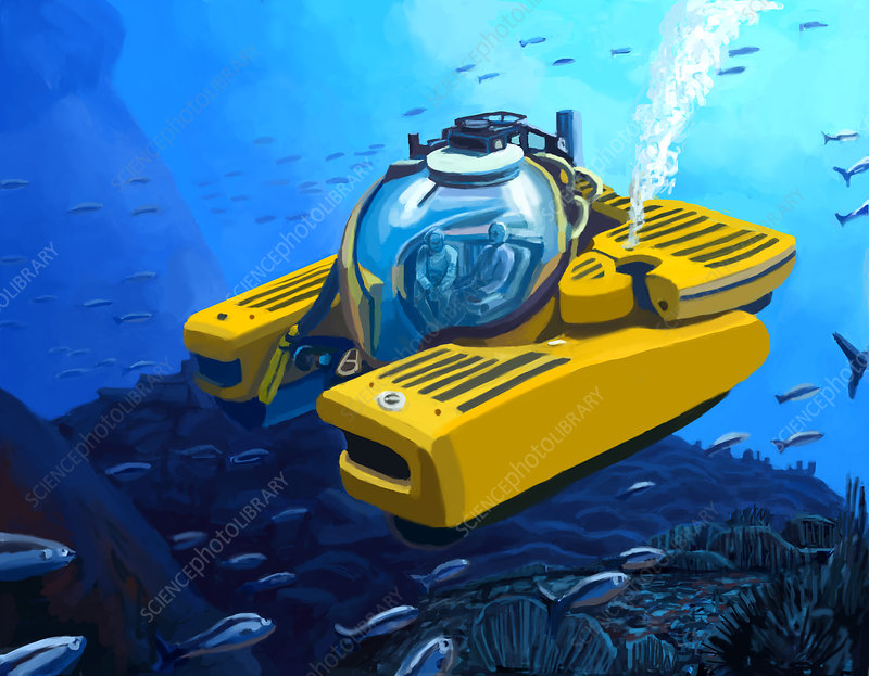 Submersible, illustration