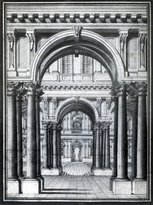 Linear Perspective, 18th Century