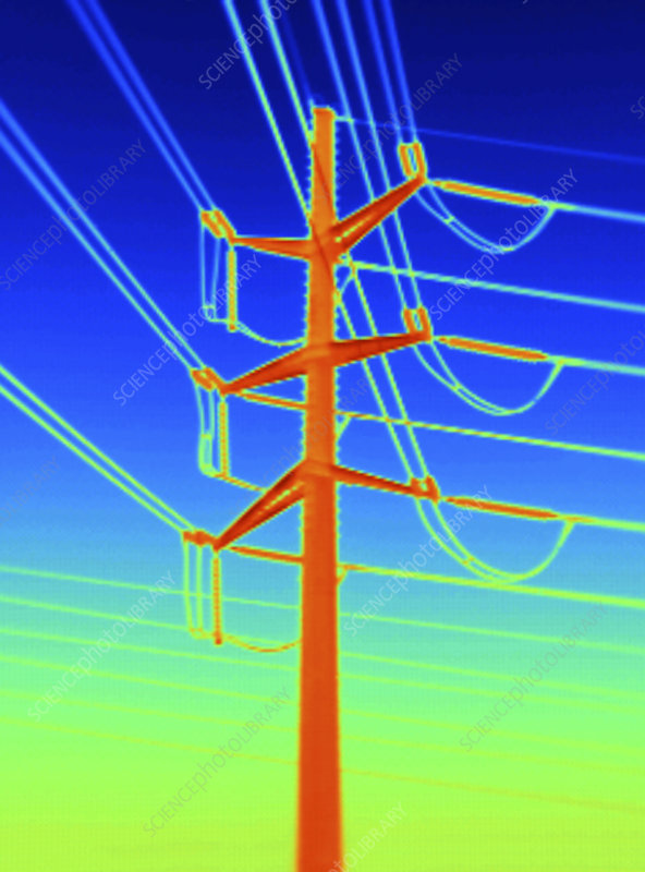 Transmission Tower Thermogram