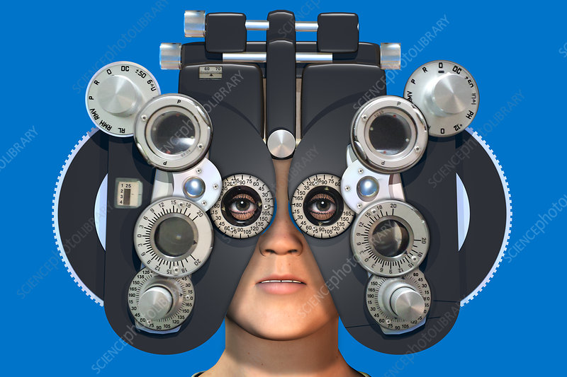 Eye Examination, illustration
