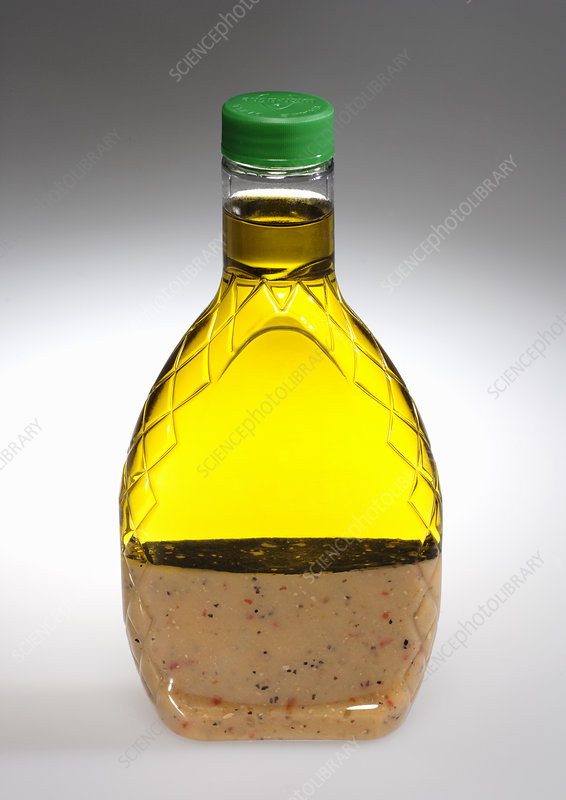 Separated Salad Dressing