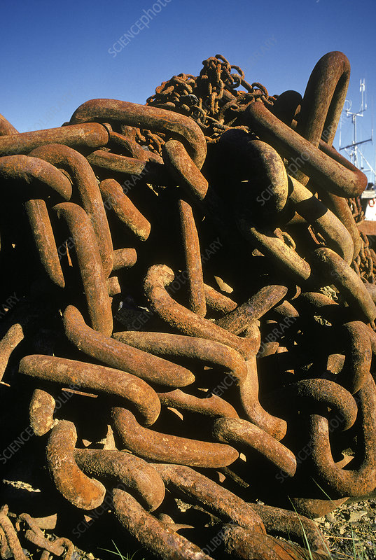 Rusting Anchor Chains