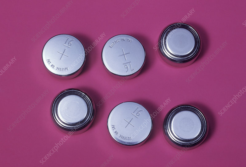 Silver Oxide Batteries