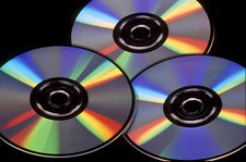 CD's showing Diffraction