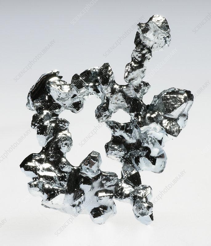 Gallium Metal Melting