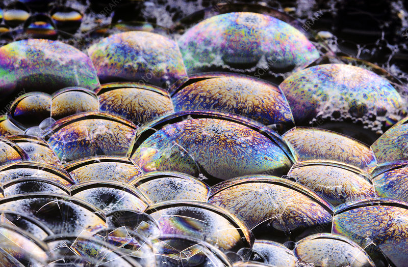 Refracting Light on Bubbles
