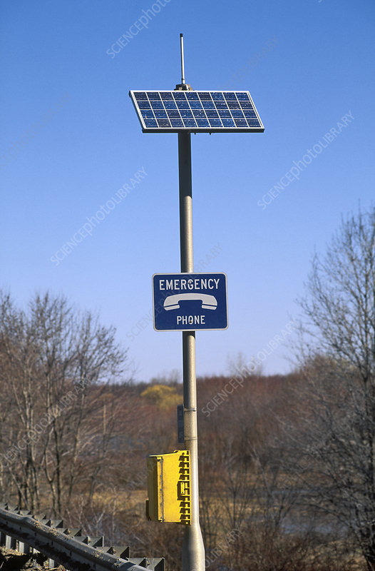 Solar Powered Emergency Phone