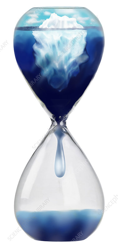 Iceberg in an Hourglass