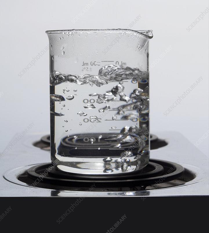 Boiling Water in a 500 millilitre Beaker