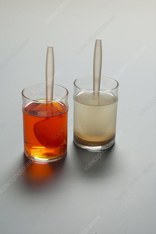 Two Glasses of Liquid