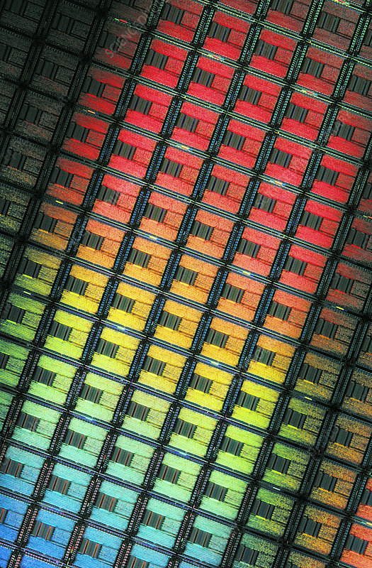 Etched Silicon Chips