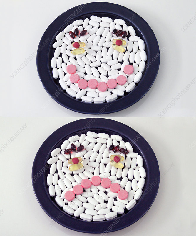 Happy and Unhappy Pills
