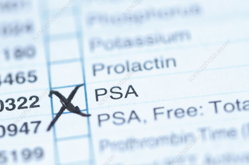 PSA Test Requisition