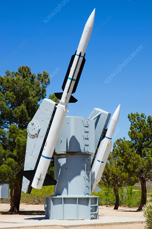 Terrier Missiles and Launcher, NM