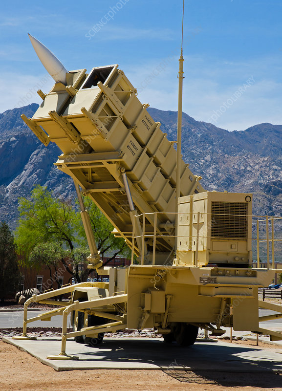 Patriot Surface to Air Missile Launcher