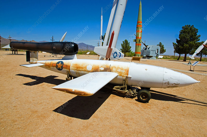 German and U.S. WWII Missiles
