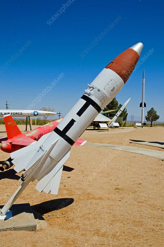 Air-2 Genie Air To Air Nuclear Rocket, NM