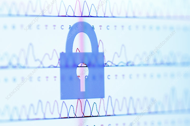 Secure Personal DNA Data