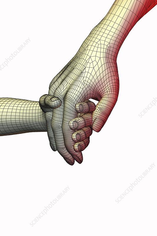 Big Hand, Little Hand, illustration