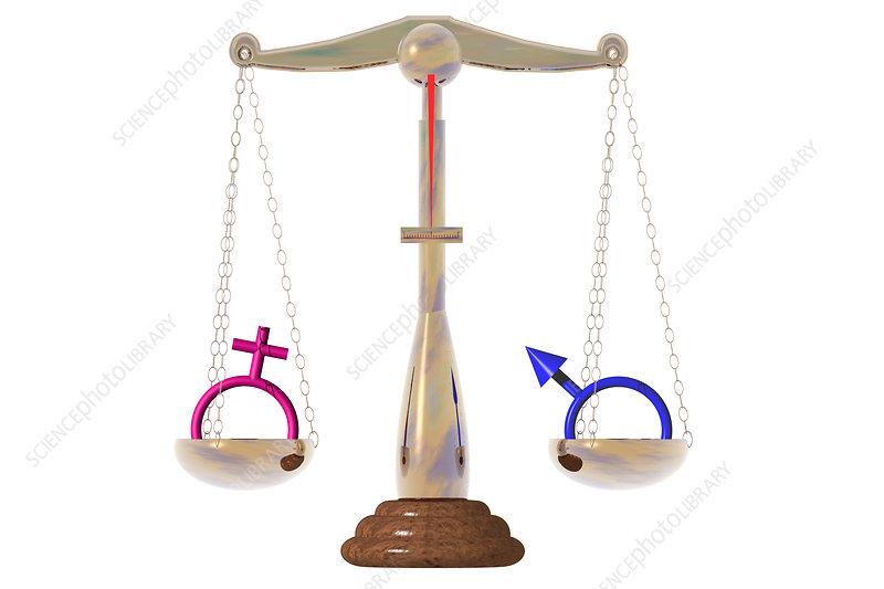 Gender Equality, illustration