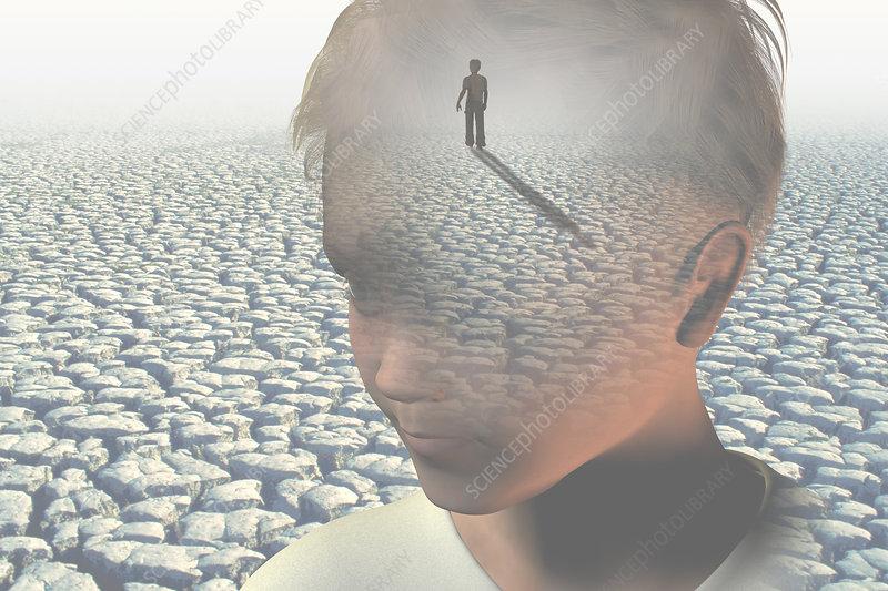 Little Boy Lost, illustration