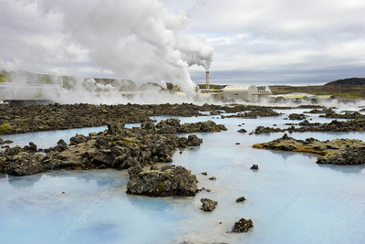 Blue Lagoon Geothermal Power Plant