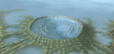 Chicxulub Crater, illustration