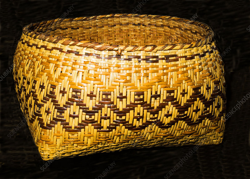 Cherokee Indian Basket