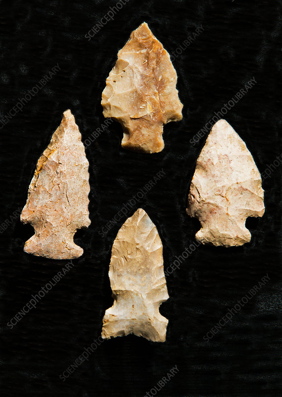 Cherokee Indian Arrowheads