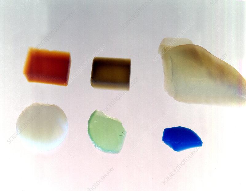 Aerogel, Synthetic Ultralight Material - Stock Image - C028/1187
