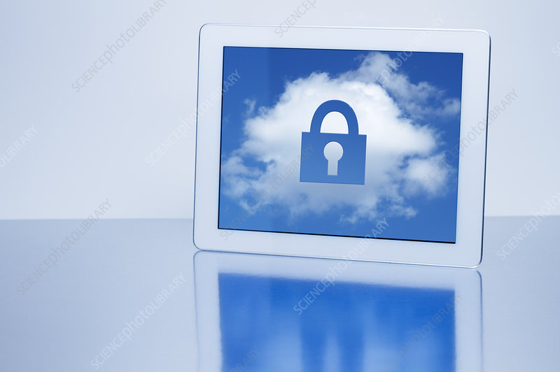 Secure Tablet, illustration