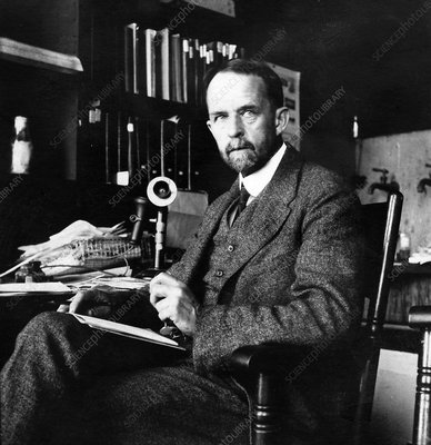 Thomas Hunt Morgan, US geneticist