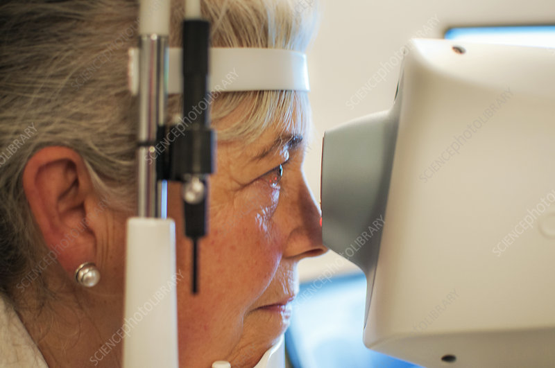 Retinal scan testing for glaucoma