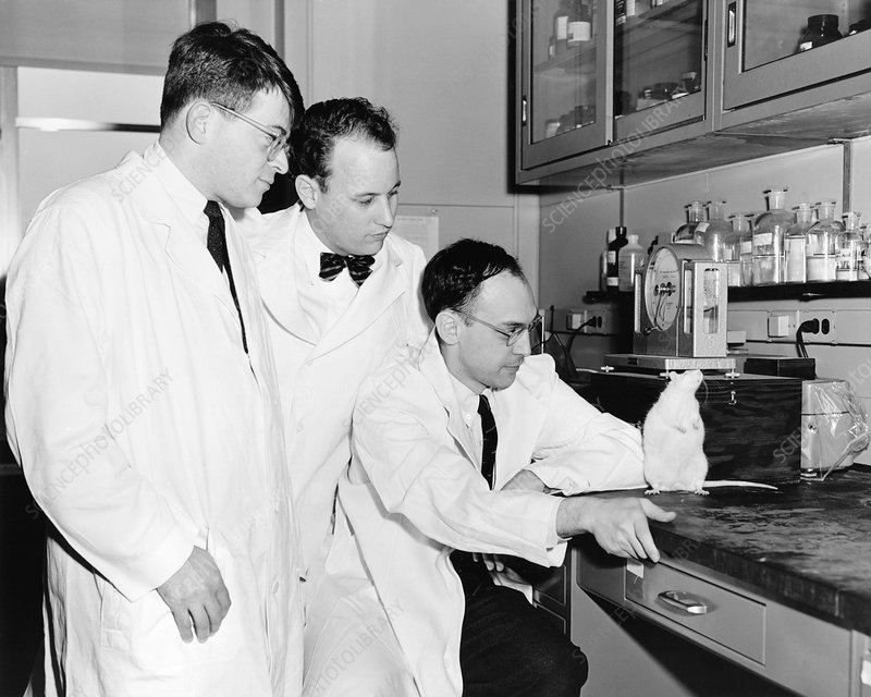 American biomedical researchers, 1957
