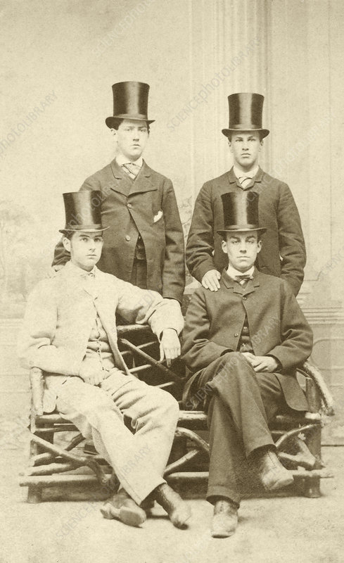 William Osler as a school prefect, 1860s