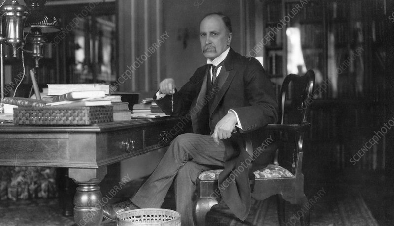William Osler at Oxford University, 1907