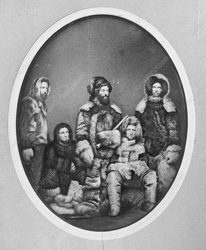 Second Grinnell Expedition, 1850s