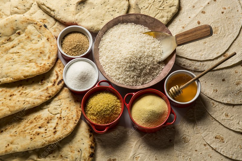 Middle Eastern carbohydrate-based foods