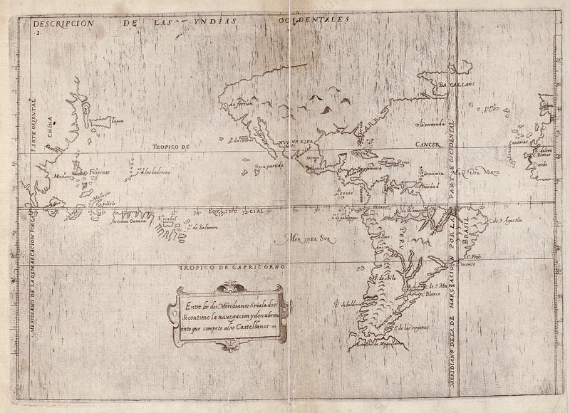 East and West Indies, 1601 atlas
