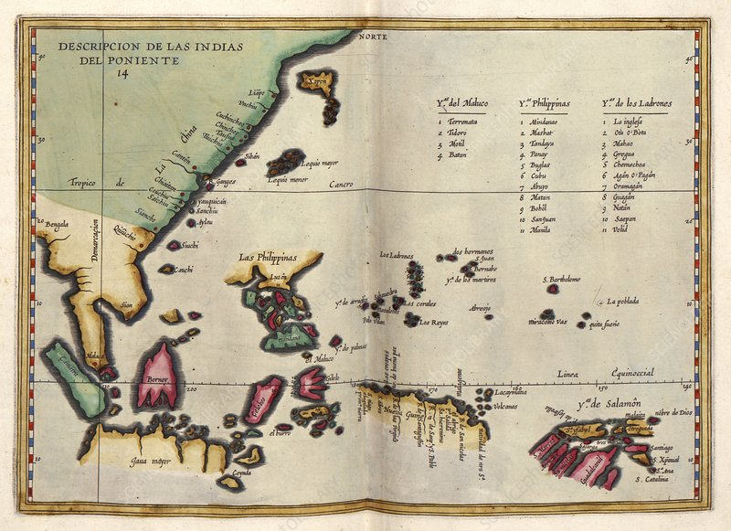 East Indies, 17th century