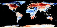 Global warming record, December 2015