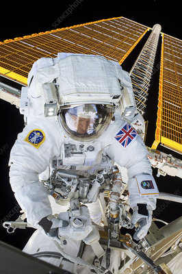 Tim Peake's spacewalk, 2016