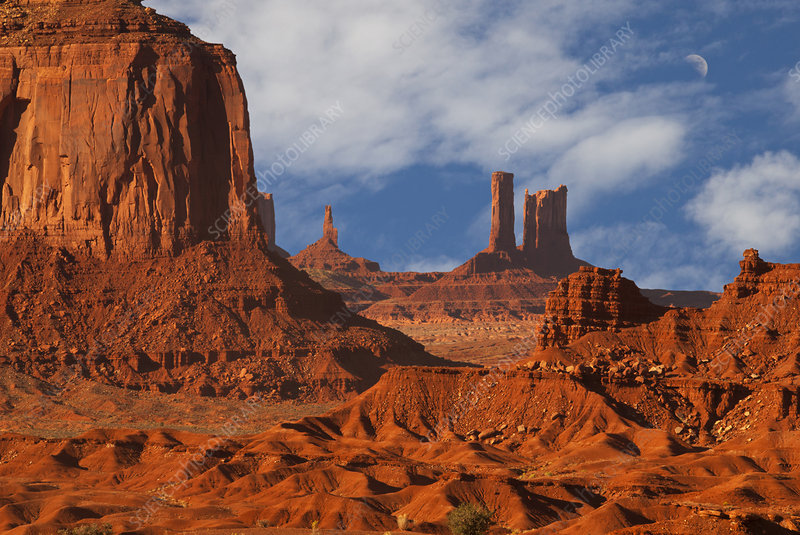 Red Sandstone Formations
