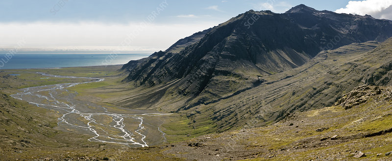 Glacial Valley, Iceland