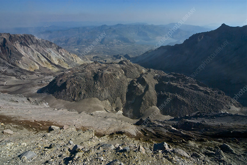 View From Mount St. Helens